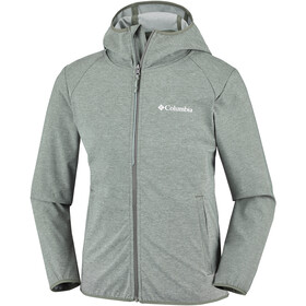 Columbia Heather Canyon Softshell Jacket Youths Cypress Heather